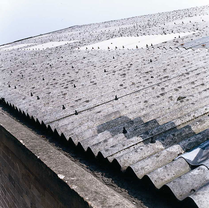 Old Asbestos Roof - Buisiness Premises